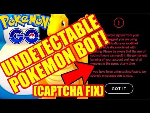UNDETECTABLE POKEMON GO BOT - CAPTCHA FIX!! BEST LEVELING BOT FOR POKEMON GO