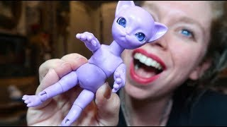 UNBOXING My FIRST Ball Jointed Doll! - CAT PEOPLE!