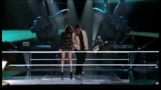 Javier Colon & Angela Wolf - Stand by me in The Voice