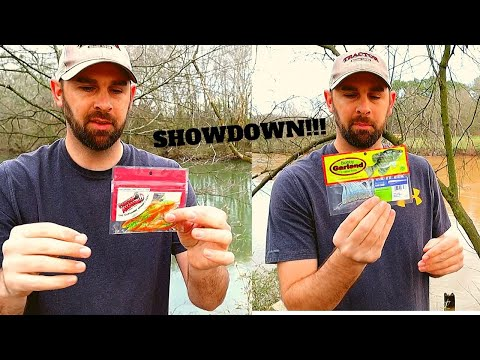 White Bass SHOWDOWN Of 2 LURES