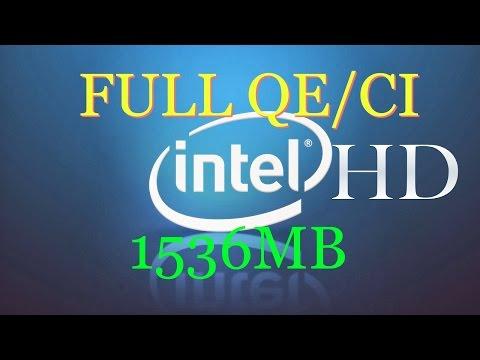 Fix Intel HD 4400/4600 Hackintosh  2017   All MacOs X Versions   Full QE/CI 1536MB