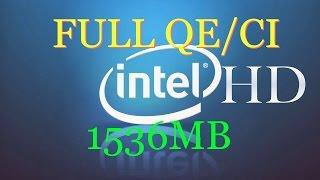 Fix Intel HD 4400/4600 Hackintosh |2017 | All macOs X Versions | Full QE/CI 1536MB