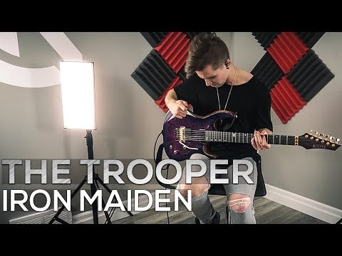 iron-maiden---the-trooper---cole-rolland-(guitar-cover)