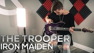 Iron Maiden The Trooper Cole Rolland Guitar Cover