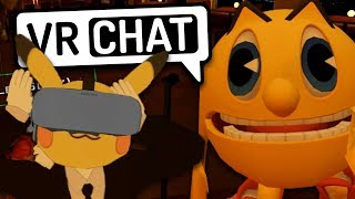 Comedy Club but it's VRChat...