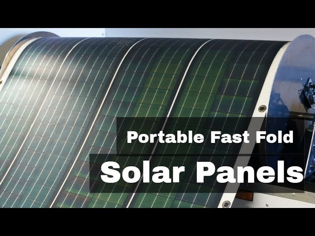 Flexible & Portable Solar Panels | Innovative Startups | business ideas