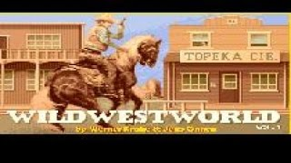 Wild West World - 1990 PC Game, gameplay