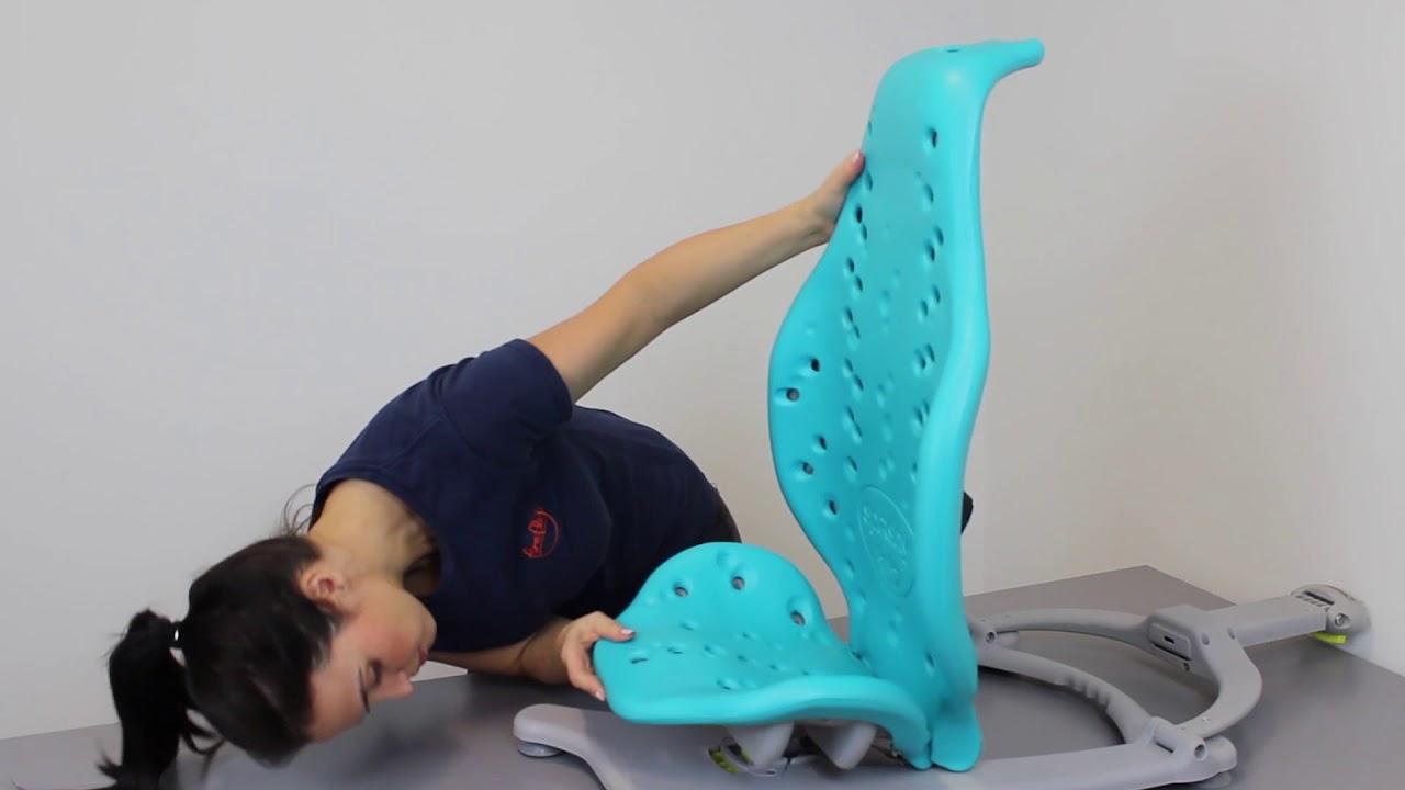 Attaching Splashy Bath Seat Floorsitter - YouTube
