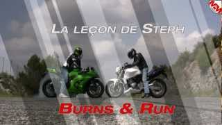 Leçon de Steph - Burn & Run