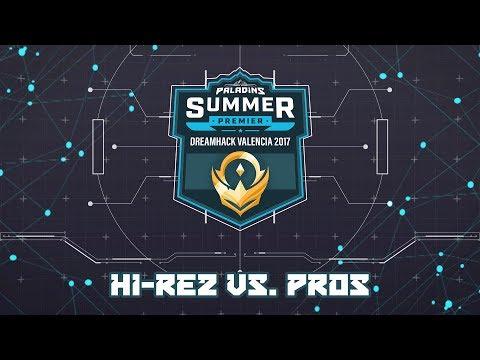 Paladins Summer Premier: Hi-Rez vs. Pros