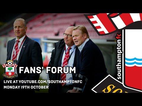 Southampton FC/BBC Radio Solent fans' forum