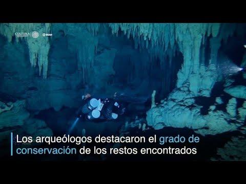 Una inmensa cueva inundada es descubierta en México