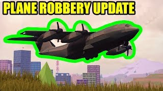 FULL GUIDE NEW CARGO PLANE and TESLA ROADSTER UPDATE  Roblox Jailbreak