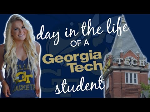 Day In The Life Of A Georgia Tech Student