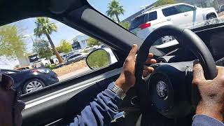 My test drive of a 2017 Alfa Romeo 4C RC Supercar Part 1
