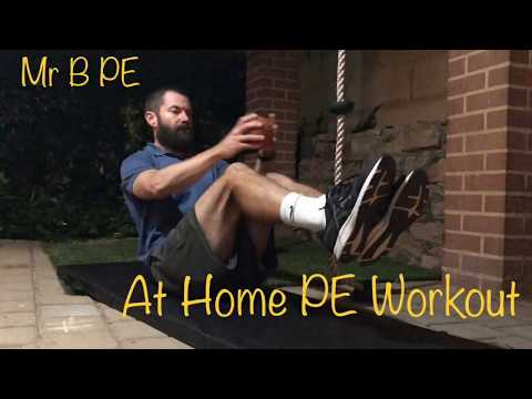 At Home PE Workout 1