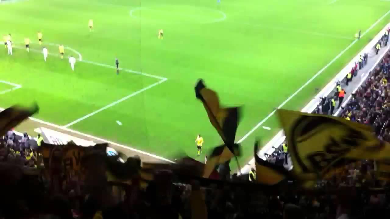 FC Augsburg-Borussia Dortmund 2012