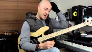 Using Pentatonic Scales #3 - Bass Lesson with Scott Devine (L#52)