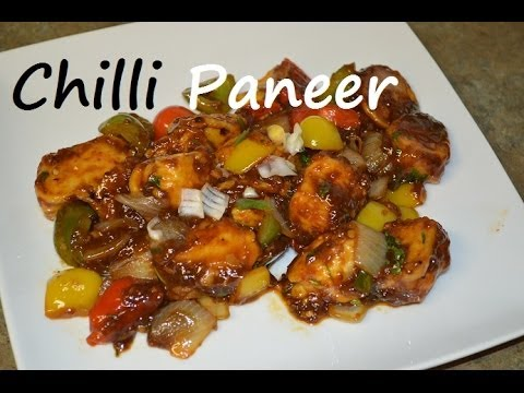 how to make chilli paneer video