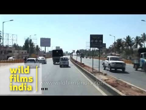 Driving from Bengaluru airport to Bangalore city