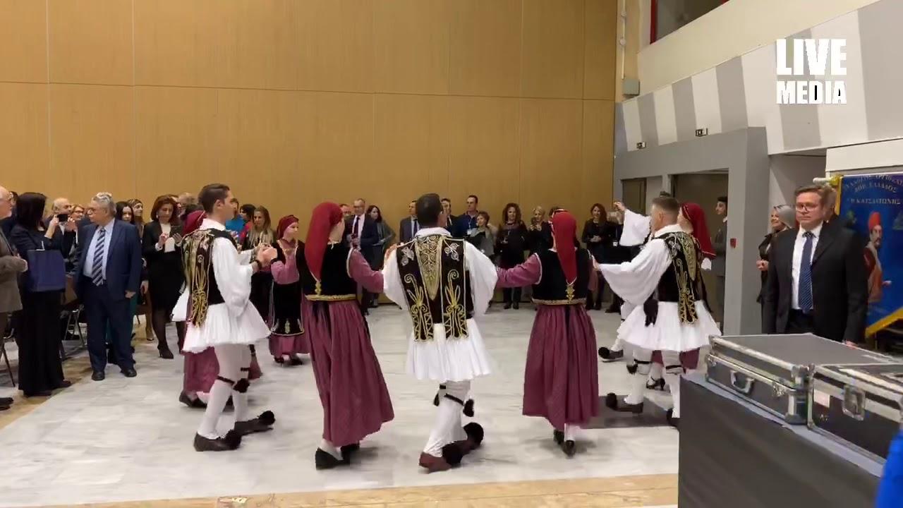 Παραδοσιακοί χοροί πριν από τα εγκαίνια των Philoxenia - Hotelia.