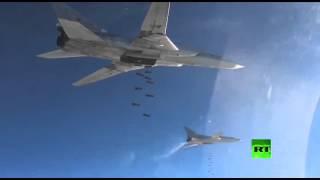 طائرات روسية تواصل شن غارات على مواقع الإرهابيين في سوريا