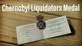 A package from Russia: Chernobyl Liquidators Medal