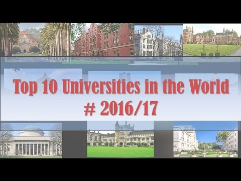 Top 10 Universities I World University Rankings 2016/17