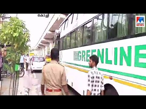 കൊച്ചിയിലും അന്തർസംസ്ഥാന ബസുകളിൽ പരിശോധന തുടരുന്നു | Kochi motor vehicle deapartment