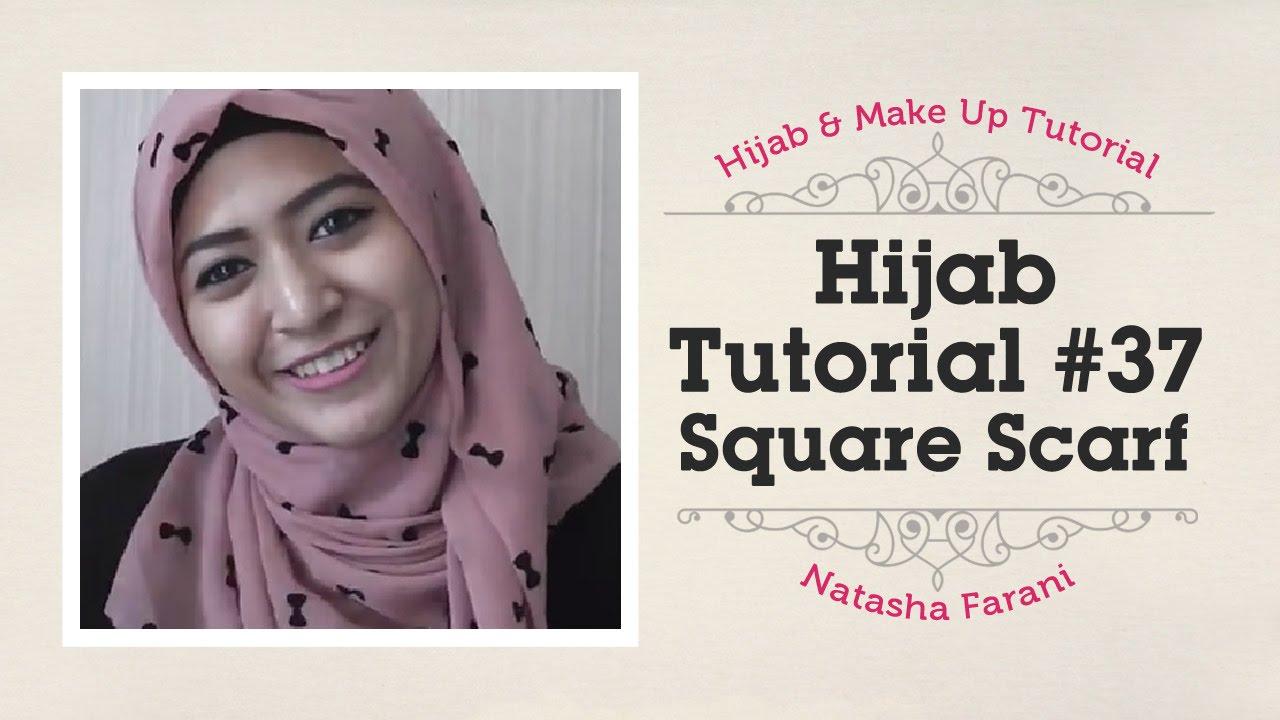 NEW TUTORIAL JILBAB SEGIEMPAT NATASHA FARANI Hijab Tutorial