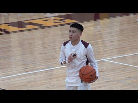 Harlandale High School: Basketball Highlights vs. Wagner
