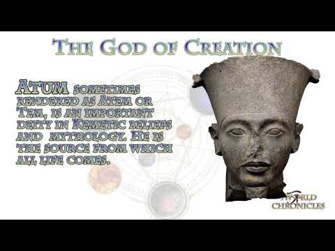 Creator Gods Of The World An  A To Z  List Pt 1 A-D