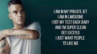 Robbie Williams - I Just Want People to Like Me (with lyrics)