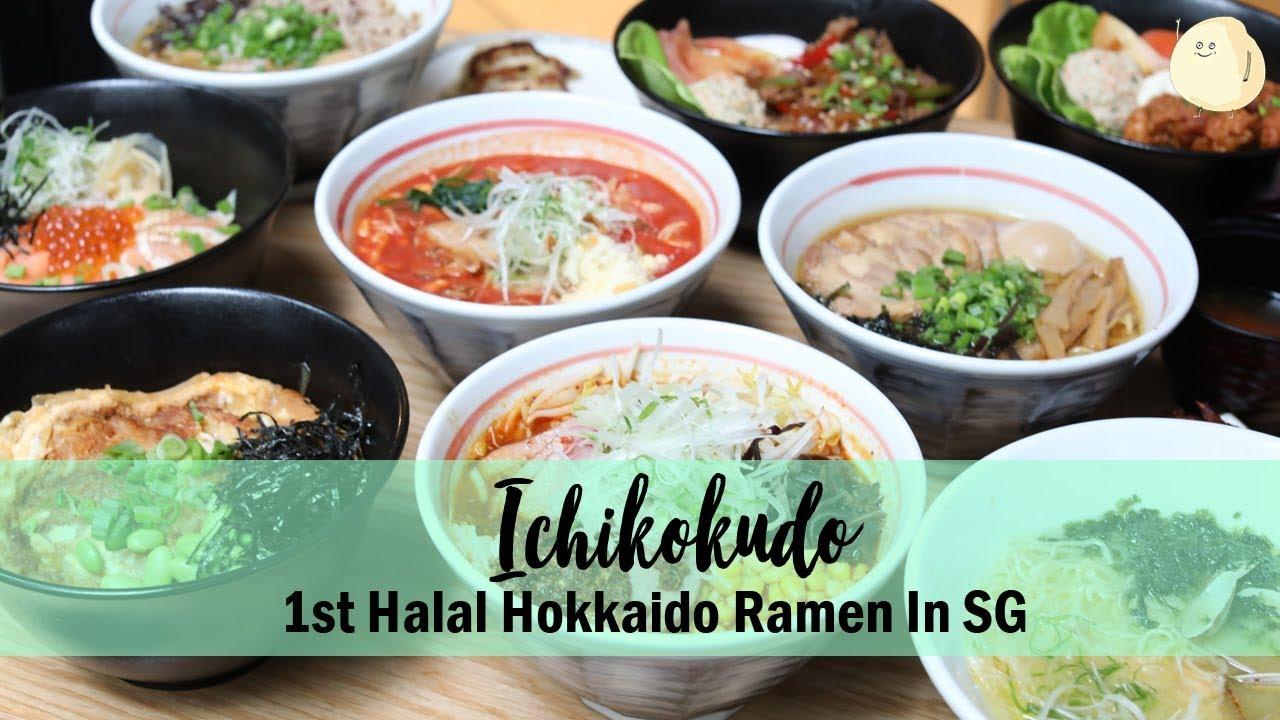 Ichikokudo Hokkaido Ramen – 1st Halal Hokkaido Ramen & Donburi