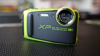 Fujifilm FinePix XP120 Hands-On and Opinion