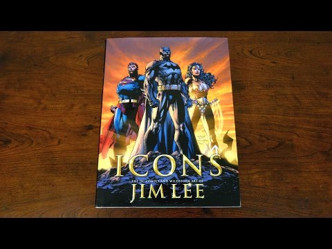 Icons: The DC Comics & Wildstorm Art of Jim Lee Review
