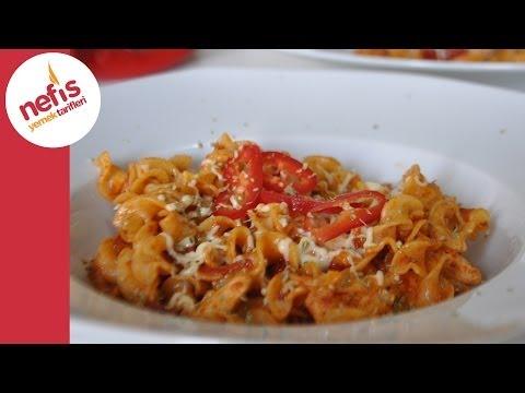 tavuklu makarna nasıl yapılır  nefis yemek tarifleri