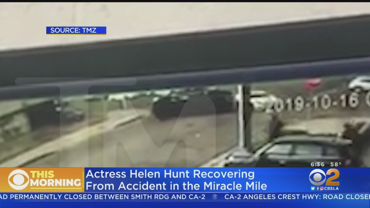 Helen Hunt Says She's 'Glad to Be Here' After 'Scary' Car Accident