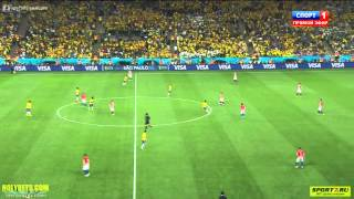Второй гол ЧМ 2014 Бразилия-Хорватия