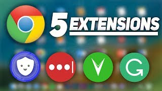 Top 5 Productivity Chrome Extensions (2017)