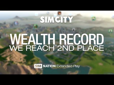 SimCity: Wealth Record - We reach 2nd place