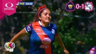 Puebla logra el triunfo | Pumas 0 - 1 Puebla | Liga MX Femenil - J9 | Televisa Deportes
