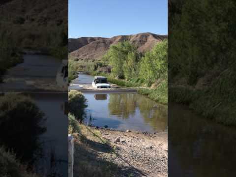 Mojave Desert Trail - Mojave River crossing by LandCruiserPhil