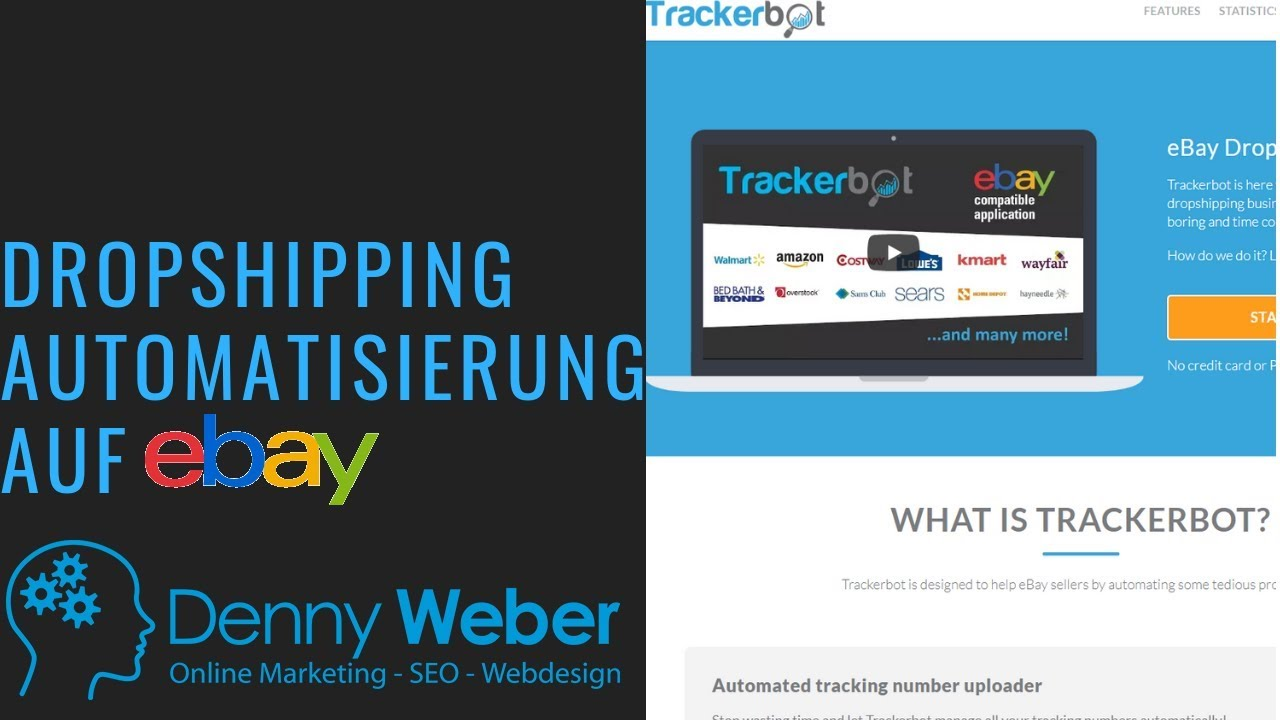 Trackerbot | Auto tracking uploader, messaging system