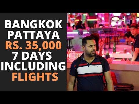 How To Plan A Bangkok Pattaya Trip In Rs. 35,000 Including Flights, Visa, Hostels, Parties & Food