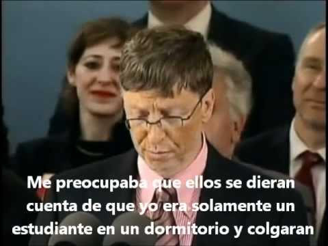 Emprende - Bill Gates Harvard  (Subtítulos español)