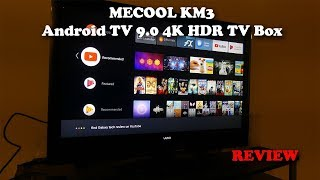 Best Android TV Box in 2019??  MECOOL KM3 Android TV 9.0 4K HDR TV BOX REVIEW