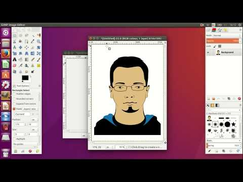 Making Passport Photos At Home Using GIMP