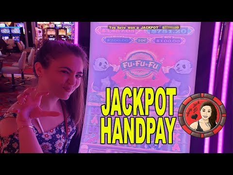 Lady Luck Gets Golden Rainbow Shower HANDPAY On Fu-Fu-Fu Slot Machine!