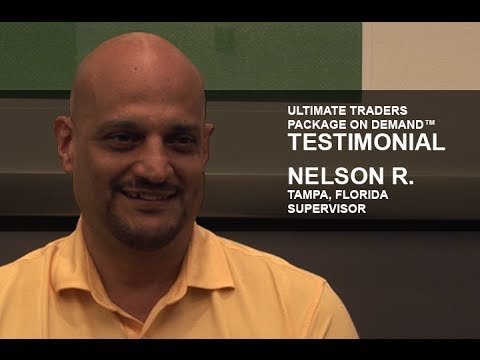 Ultimate Traders Package on Demand Testimonial | Nelson R.